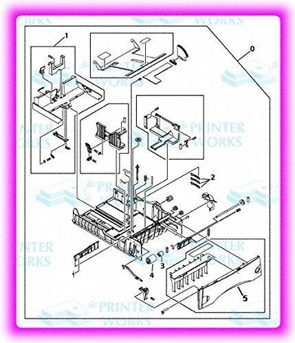 HP RM1-1088-050 Tray lj 42x0 43x0 500-sheet by HP (Image #2)