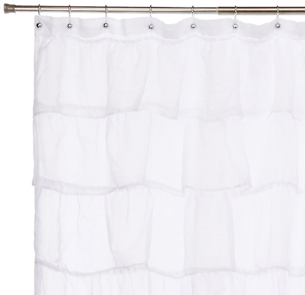 Amazon.com: Gee Di Moda Gypsy Luxury Ruffle Bathroom Shower ...