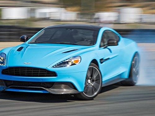 2014 Aston Martin Vanquish Hot Lap! - 2013 Best Driver's Car Contender