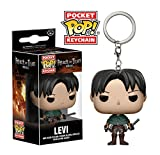 Funko Pop Keychain Attack on Titan Levi Ackerman Action Figure