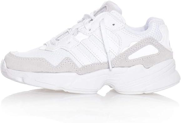 miel Promover Eléctrico  Adidas Originals Yung-96 C Zapatillas Moda Nino Blanco Zapatillas Bajas  Shoes: Amazon.es: Zapatos y complementos