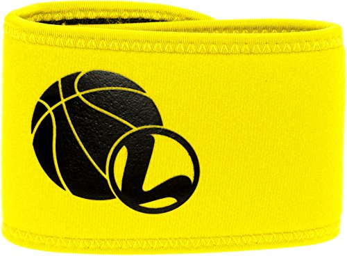 Basketball Shooting Aid - Basketball Shot Training Wrap for Better Jumpshots & Layups by LISH - Shot Wraps