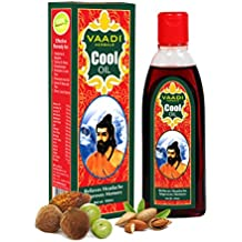 Blend of Brahmi Triphala and Almond Herbal Oil Hair Treatment - ★ Keeps the Hair Cool(helps in Growth) - ★ Relieves Headache - ★ Reduces Body Ache - ★ Prevents Premature Hair Fall - ★ ALL Natural - ★ Herbal Therapeutic Grade - 6.76 Ounces, Vaadi Herbals