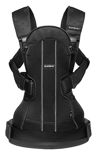 BABYBJORN Baby Carrier We - Black, Mesh