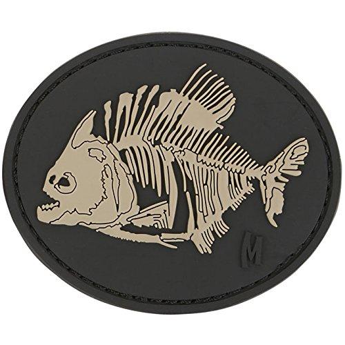 Maxpedition Piranha Bones Patch, SWAT - Bone Applique