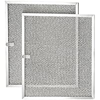 Parts & Accessories Aluminum Mesh Range Hood Filter (2-Pack) Broan Nutone Model 99010299