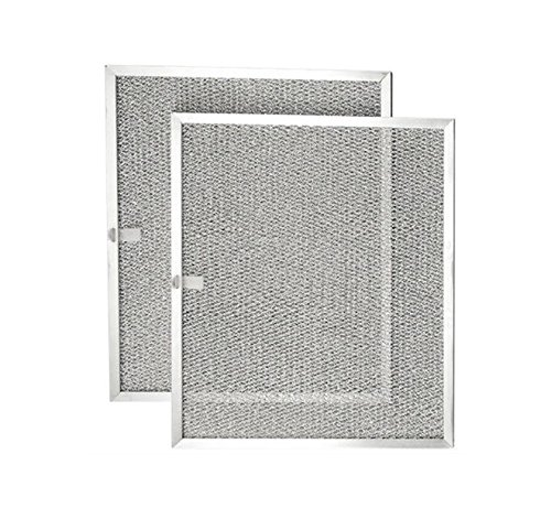 KHY (2-Pack) Vent Hood Aluminum Mesh Range Hood Filter for Broan Nutone Model 99010299 - 11-13/16 X 14-9/32 X 11/32
