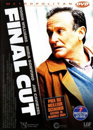 The Final Cut Movie Poster (27 x 40 Inches - 69cm x 102cm) (2004) French -(Robin Williams)(Mira Sorvino)(James Caviezel)(Mimi Kuzyk)(Stephanie Romanov)(Brendan Fletcher) - Final Cut 2004