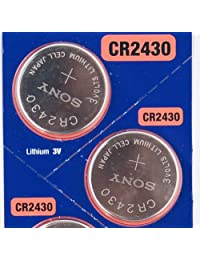 2PC SONY CR2430 2430 Lithium Watch Battery 3V 280mAh - Exp Date: 2021