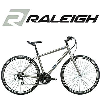 Raleigh Strada 2 700C Wheel Mens Bike in Grey - Frame Size 18 Inch ...