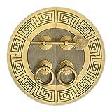 Tibetan Cabinet Face Plate 5-1/2''