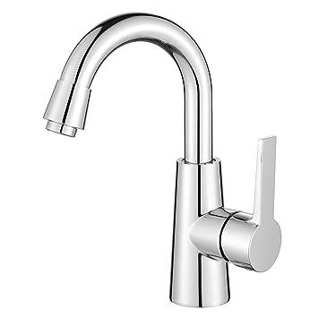 Homelody® 360° drehbar Elegant Chrom Wasserhahn Waschtischarmatur ...   {Armaturen küche chrom 67}