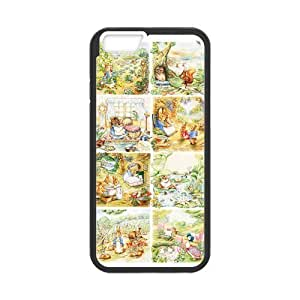 [Accessory] iPhone 6 Case, [peter rabbit] iPhone 6 (4.7) Case Custom Durable Case Cover for iPhone6 TPU case(Laser Technology) by runtopwell