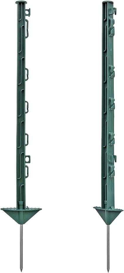 Voss Farming 20 Piquets En Plastique 74 Cm Vert Stable Solide Robuste Clôture électrique Amazon Fr Jardin
