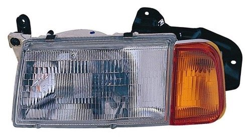 Go-Parts » OE Replacement for 1989-1998 Suzuki Sidekick Front Headlight Headlamp Assembly Front Housing/Lens/Cover - Left (Driver) Side - (2 Door + JS 4 Door + JX 4 Door) 35300-60A11 SZ25