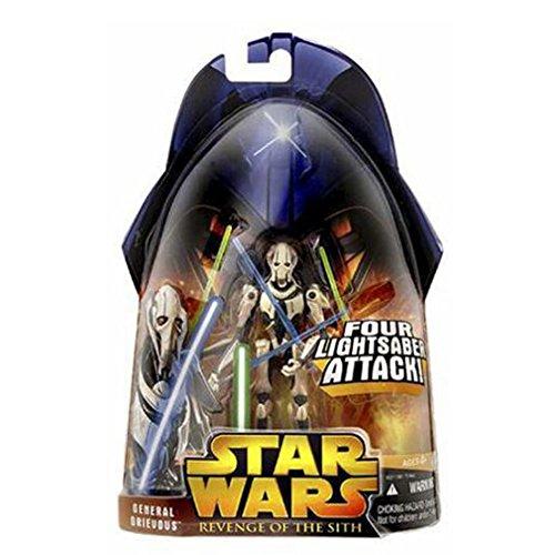 - Star Wars General Grievous 4 Armed Episode 3 Figure