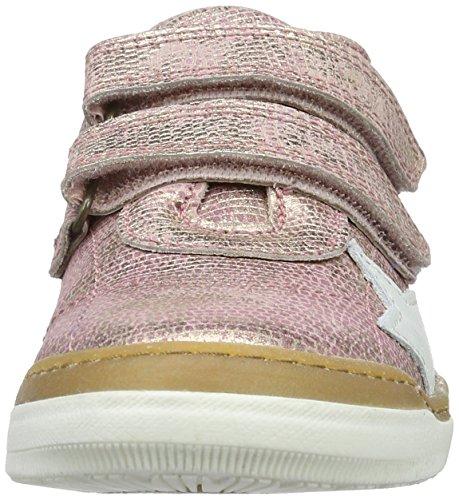 Bisgaard Klettschuhe - Zapatilla Baja Unisex Niños Pink (710 Rose)