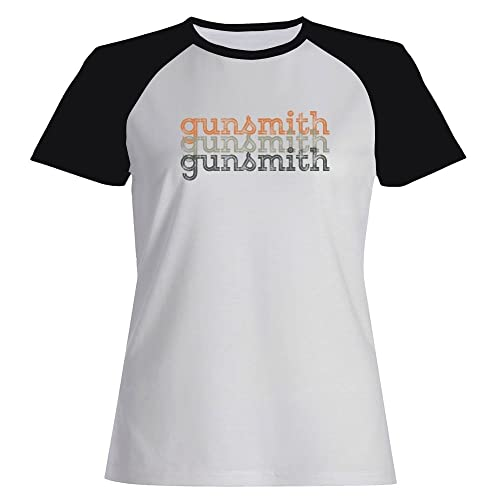 Idakoos Gunsmith repeat retro - Ocupazioni - Maglietta Raglan Donna