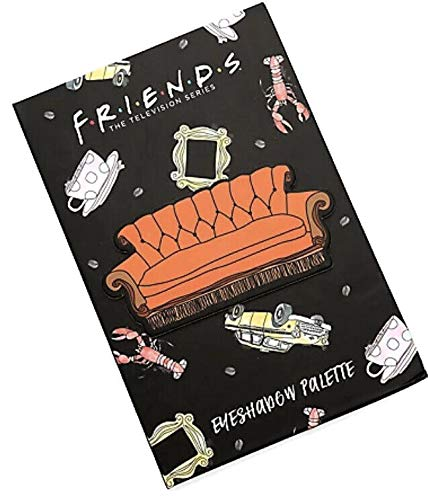 Friends TV Show Couch Eyeshadow Palette 12 Shades Mirror Television New