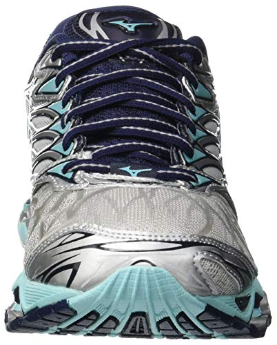 Wave Silv para Prophecy Aquasp Peacoat Mizuno 7 001 Mujer Multicolor Zapatillas pdFHw