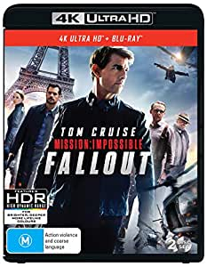 Mission: Impossible - Fallout (4K Ultra HD + Blu-ray)