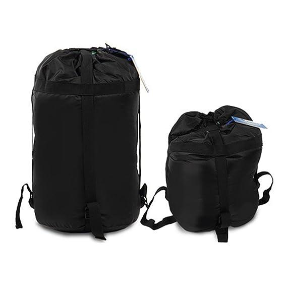 VORCOOL Material de Compresión Impermeable Saco de Dormir Bolsa de Camping Senderismo Mochilero Caza Tamaño de Viaje S (Negro): Amazon.es: Deportes y aire ...
