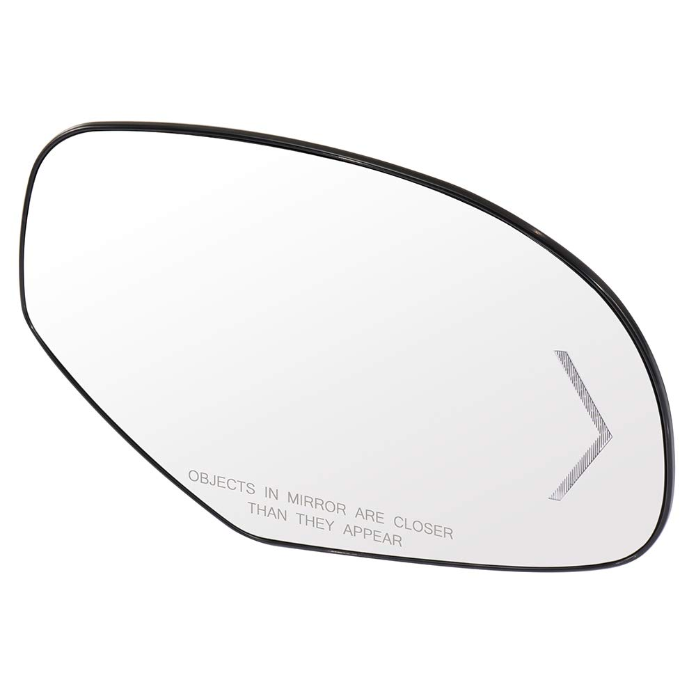 ECCPP Passenger Side Exterior Mirror Glasses Right Side Rear View Mirror Glass Heated Turn Signal Door Mirror Glass Replacement fit for 2007-2013 GMC Sierra Chevrolet Silverado 1500//2500 HD//3500 HD