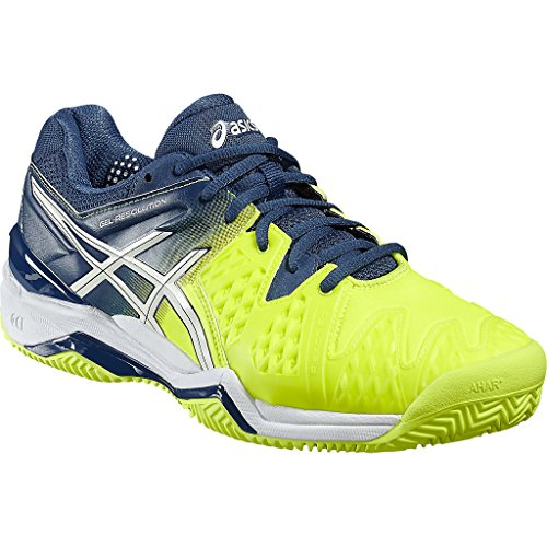 Men's 5 5 Us Uk 25cm 9 28 0701 Asics Shoes 5 44 6 10 Clay resolution E503y Gel Tennis wZZqIBA