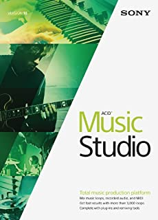 Sony ACID Music Studio 10- 30 Day Free Trial [Download] (B00MEOHC7E) | Amazon Products
