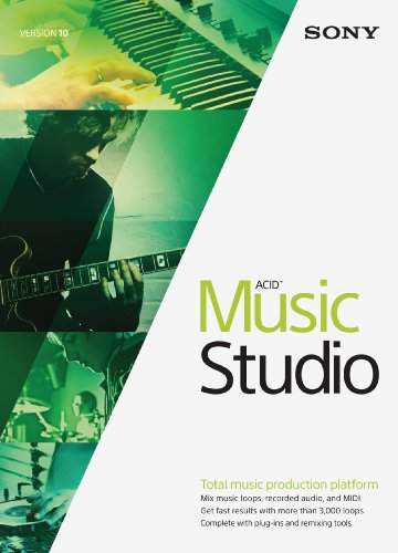Sony ACID Music Studio 10- 30 Day Free Trial [Download] Audio Music Software