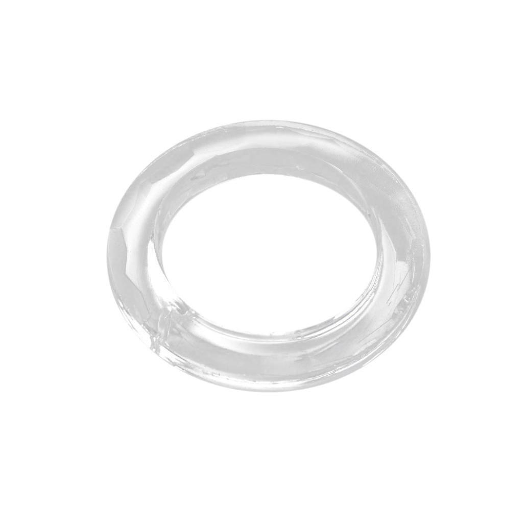 Winkey Decoration,1PCS Handing Ring Chandelier Glass Crystals Lamp Prisms Parts Drops Pendant 50mm