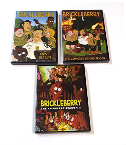 BRICKLEBERRY: THE COMPLETE TV SERIES SEASONS 1,2,3 DVDs 1 - 3 (6 (Series Iii Dvd)