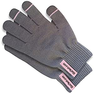 Texting Gloves for Smartphone & Touchscreen: Premium Quality Materials, Ultra-Soft Brushed Interior For Comfort & Warmth. Smart Touch-nology in Fingertips Allow Fun, Safe Texting & Smart/iPhone Use Outdoors. Unique 100% Winter-Smart 'Wear-antee'! (Pink Details)