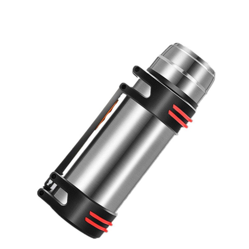 【超歓迎】 耐久性のある ポータブル 真空カップ ポータブル アウトドア アウトドア 耐久性のある 漏れ防止 ステンレス製スポーツカップ製 シルバー B07JD82J9T, 東芝ダイレクト:2d1072bb --- a0267596.xsph.ru