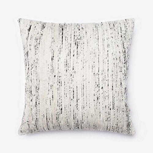 Loloi P0242 Cotton & Recycled Sari Silk Pillow Cover, 22