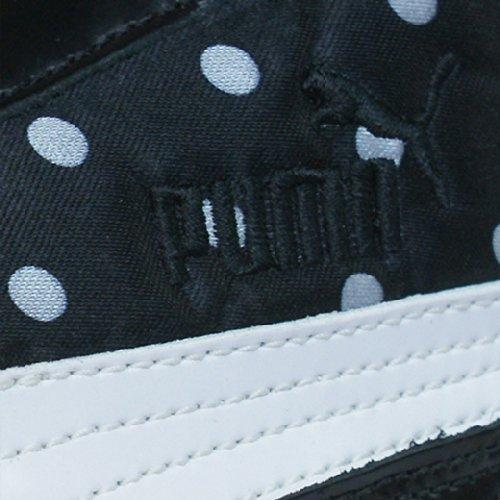 Puma Speed Cat Kiss Sneakers / Chaussures En Cuir Pour Femme - Noir