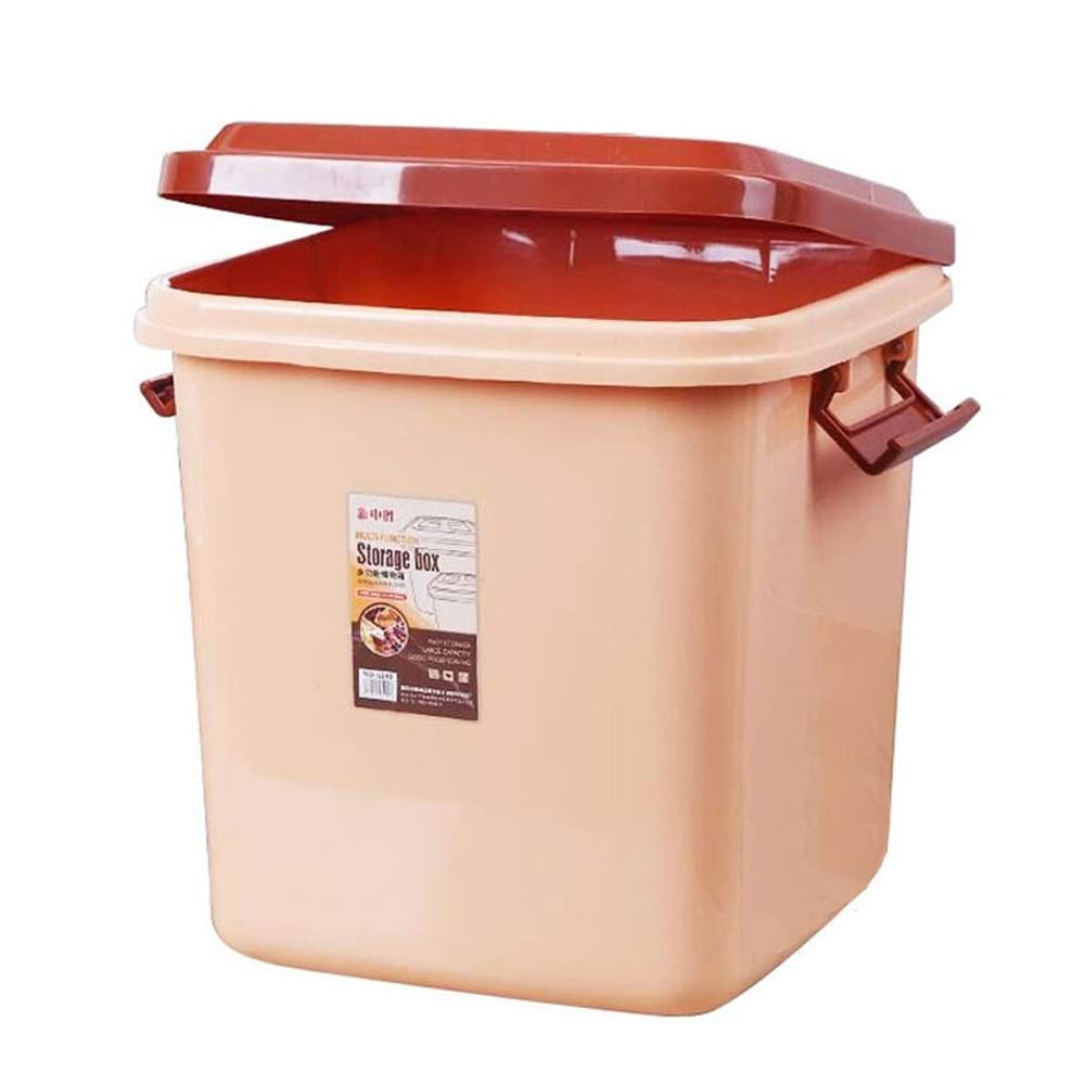 2825.5cm Jia He Pet Storage Bucket Pet Storage Grain Barrel Dog Food Barrel cat Food Barrel Simple Storage Box  3 Sizes @@ (Size   28  25.5cm)
