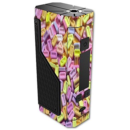 Decal Sticker Skin WRAP - Volcano Lavabox DNA 200 - Popular Candy Print 80's