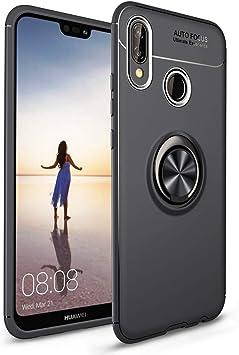 NALIA Funda con Anillo Compatible con Huawei P20 Lite, Protectora ...
