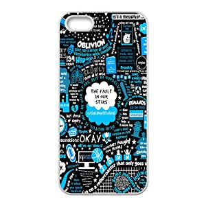 SANLSI The Fault in Our Stars Okay? Okay Printed Cell Phone Case for Iphone 5s