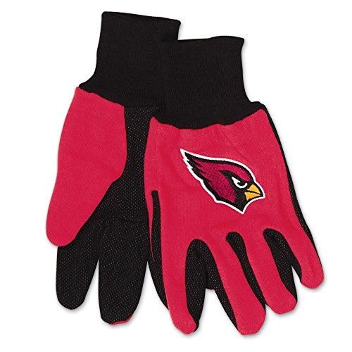 WinCraft NFL Arizona Cardinals Two-Tone Gloves, 2-Pack, - Two Gloves Tone Cardinals