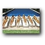 GB Eye Sunbed Girls Poster