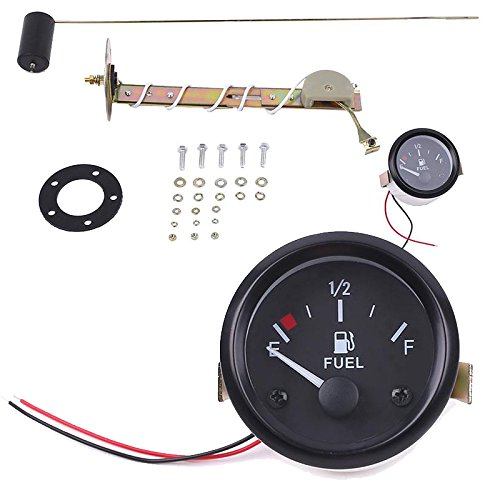 Sedeta® 2 'Indicatore del misuratore di livello del carburante per olio sul quadrante del camion per auto indicatore del quadrante di 52 mm Con galleggiante dell'olio
