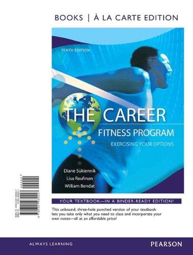 career fitness program edition 10 - 5