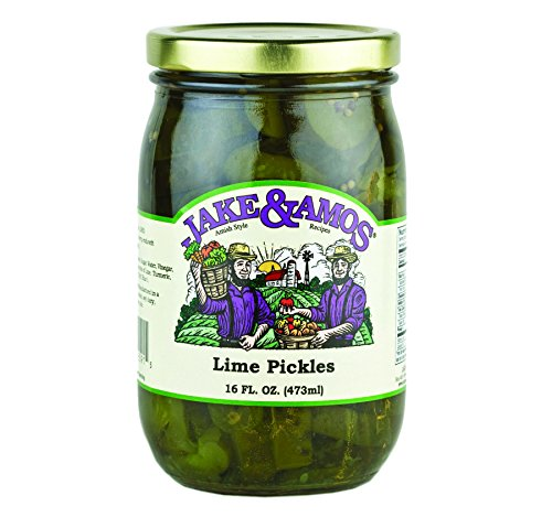 Jake & Amos Lime Pickles 16 Oz. (3 Jars) by Jake & Amos