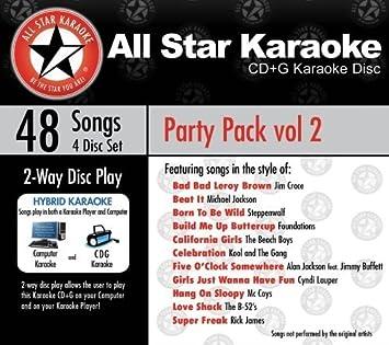 ASK-6002 Party Pack Vol. 2 Marvin Gaye, Elvis Presley, Michael ...