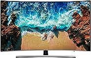 """Samsung UN65NU8500FXZX Smart TV Curvo 65"""" 4K Ultra HD, 3 HDMI, 2 USB, Slate Black/Eclipse S"""