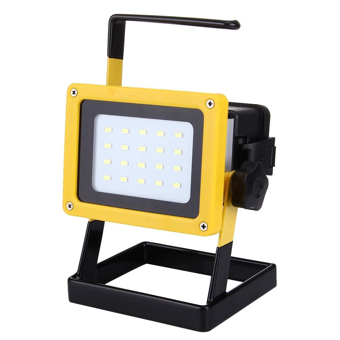 Watemall Led Light GuoBo LED Light 35W 2640LM High Power Handheld LED Auxiliary Light, 20 LED 3ATM Waterproof Portable, 110-240V(White Light)