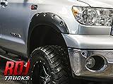 08 tundra fender flare - RDJ Trucks PRO-OFFROAD Bolt-On Style Fender Flares - Toyota Tundra 2007-2013 - Set of 4 - Smooth Paintable OE Black Finish