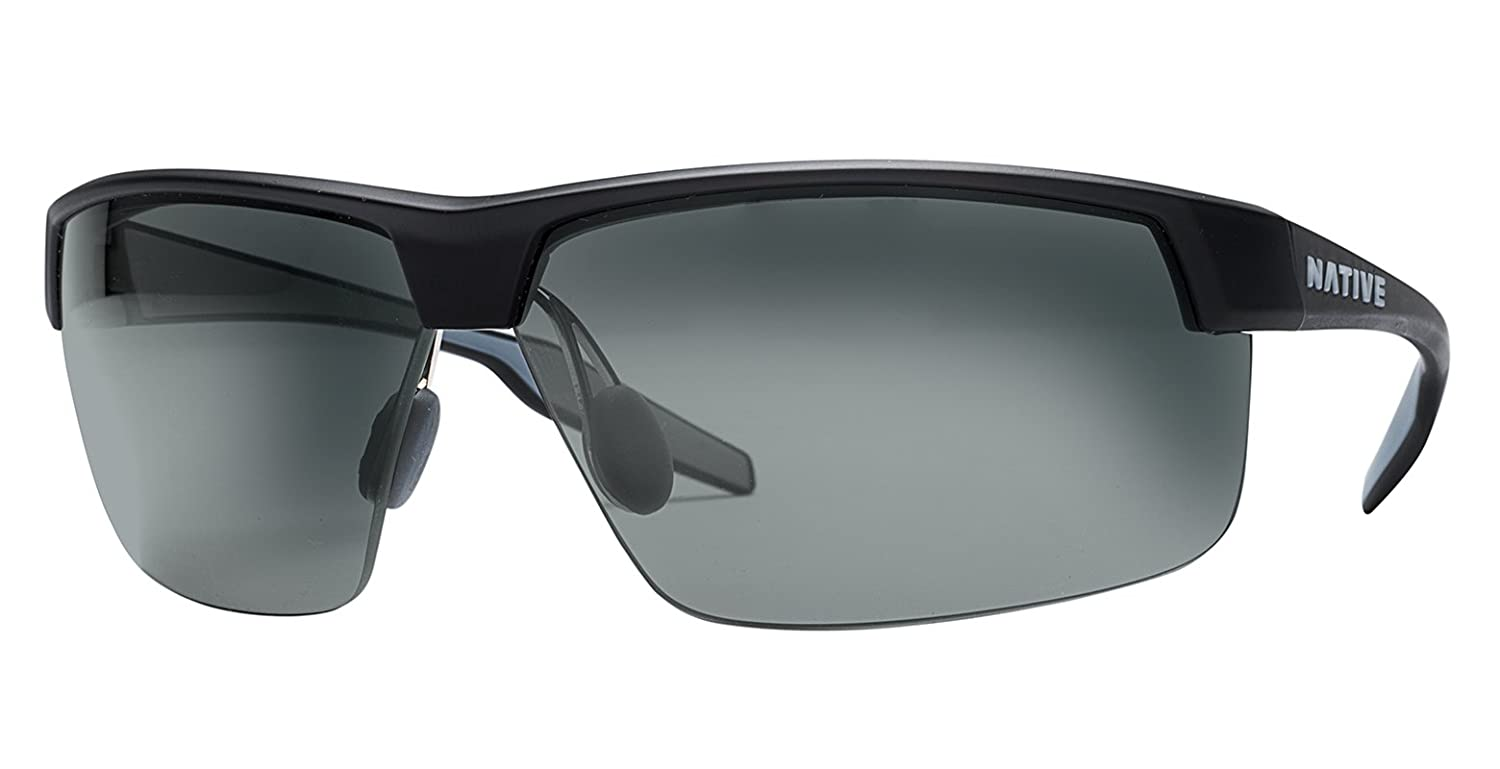 dbd46dcabe6 Amazon.com  Native Eyewear Unisex Hardtop Ultra XP Matte Black Gray  Sunglasses  Sports   Outdoors